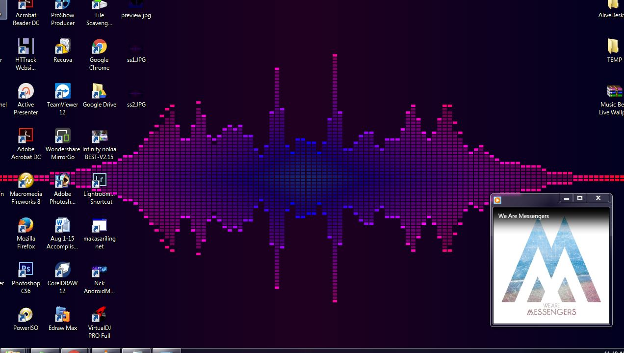 music visualizer live wallpaper